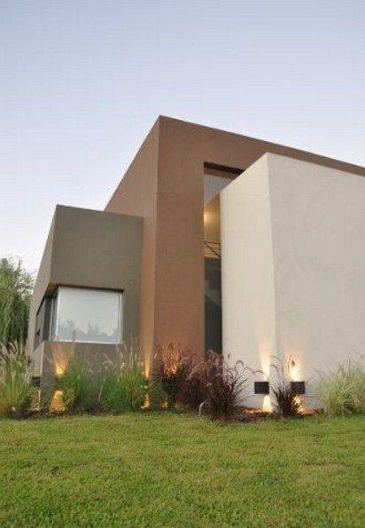 Frentes de casas con tarquini a k home detalles pinterest casas fachadas y color - Revestimiento fachadas exteriores ...