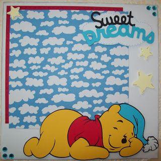 Scrappy Vee: Sweet Dreams Pooh & Tigger