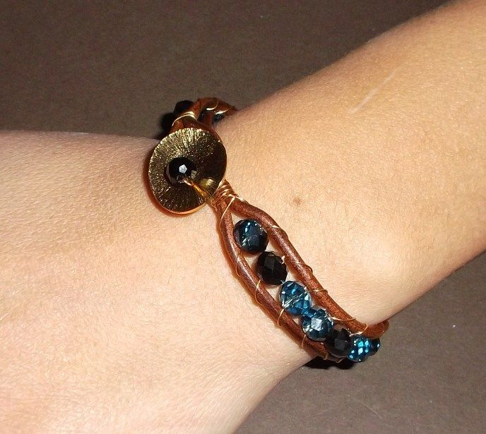 Bracelet wrap bead