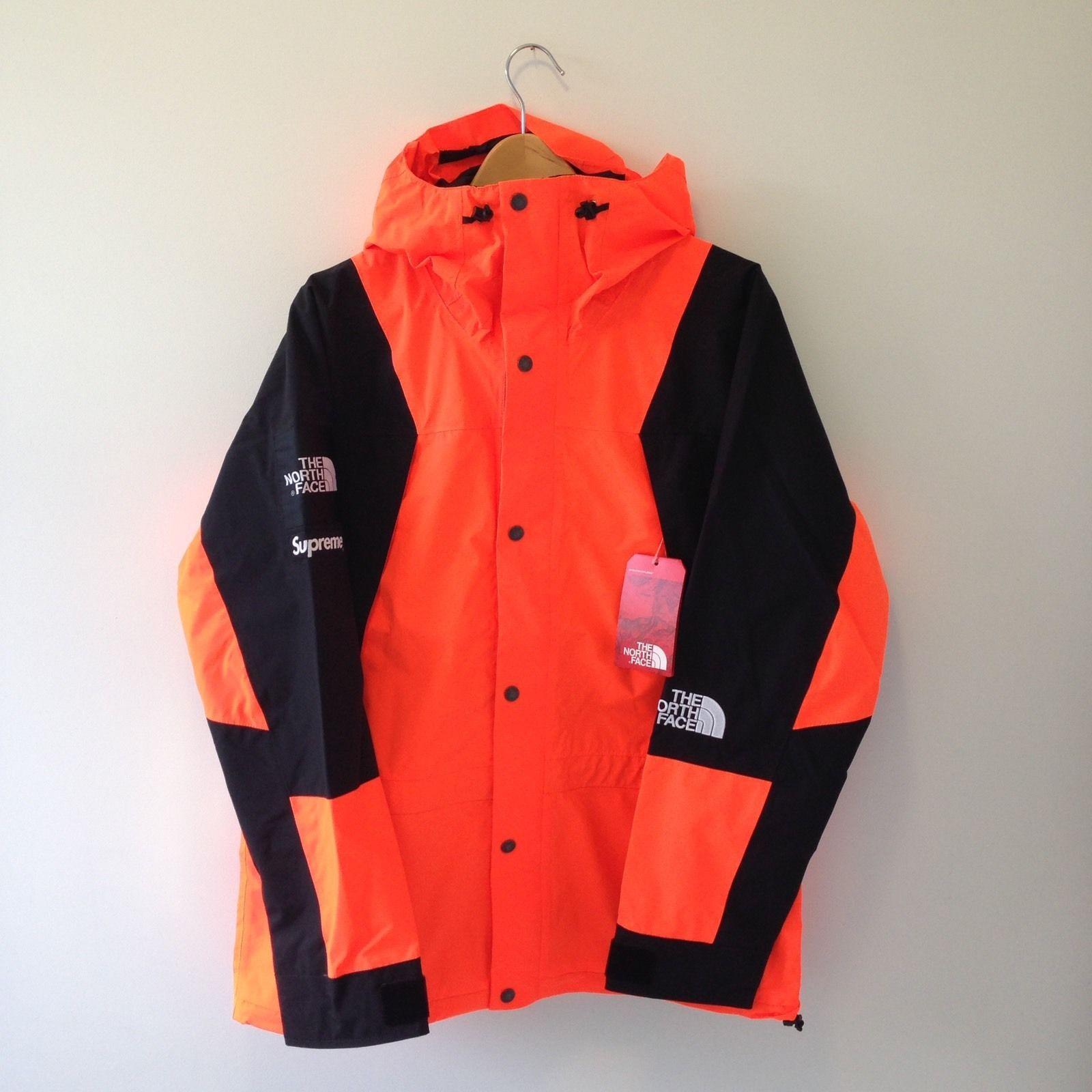 Supreme X The North Face Power Orange Mountain Jacket