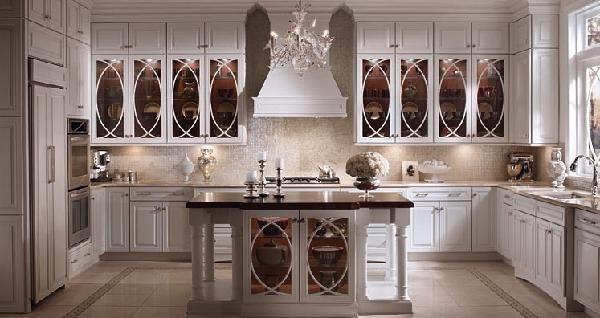 Kitchen Island Design Ideas Kitchens Pinterest Glass doors