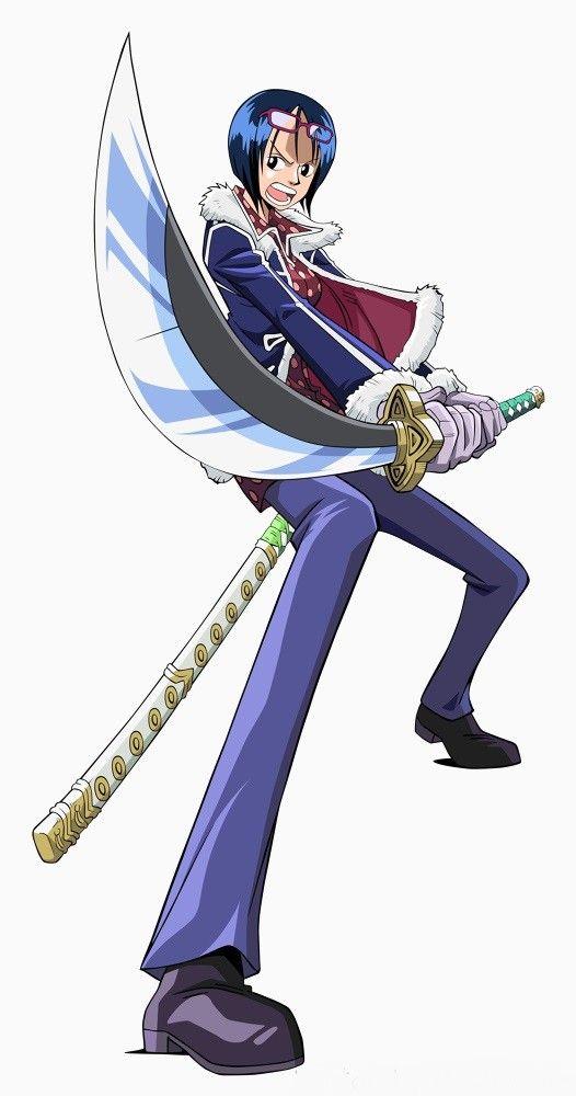 One piece, Tashigi