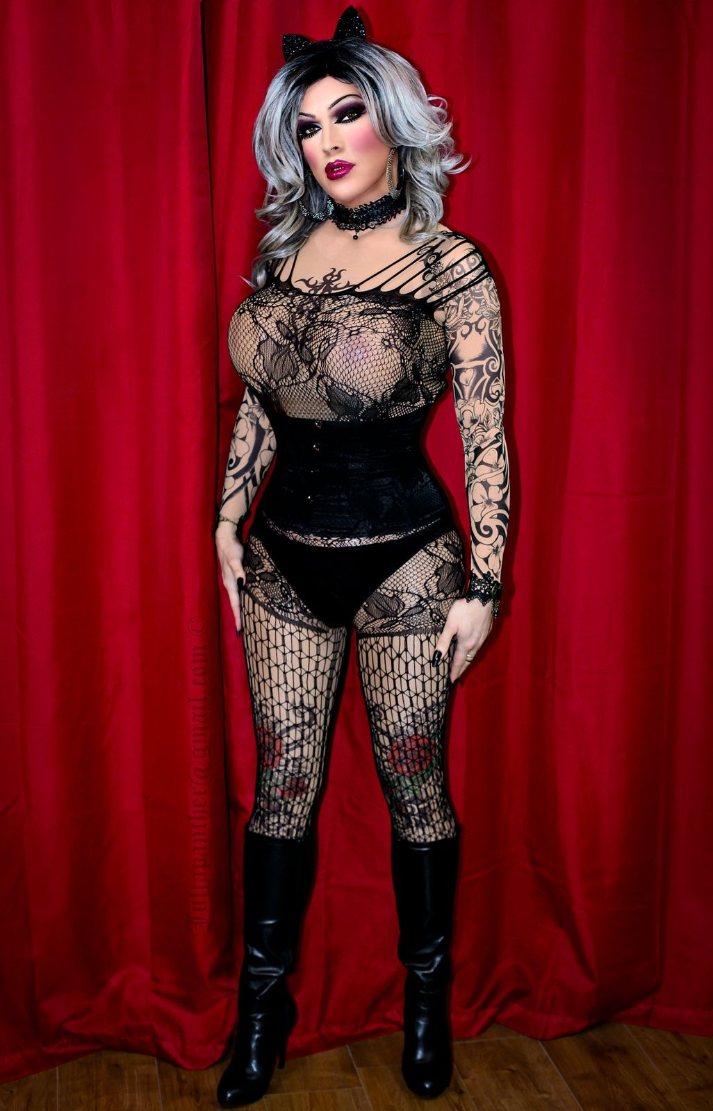 9362e4298476 Fishnet and leather boots drag and the queens we like pinterest jpg  1026x1600 Drag fishnet