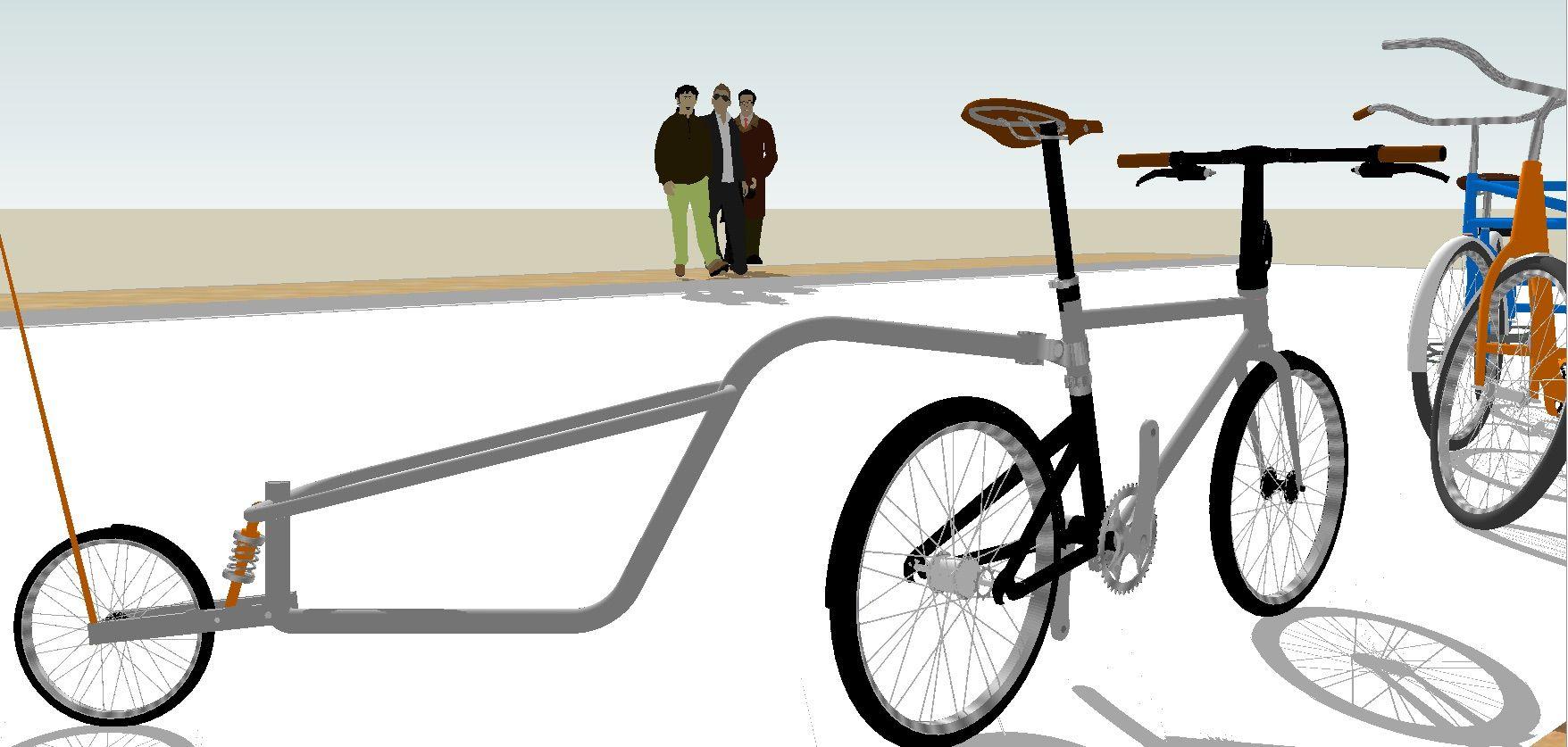 Onewheel Biketrailer Bikenrun Designandbuild Customs Bandung