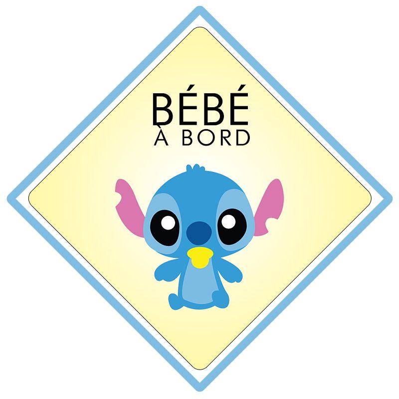 Bébé à bord Stitch (Disney)