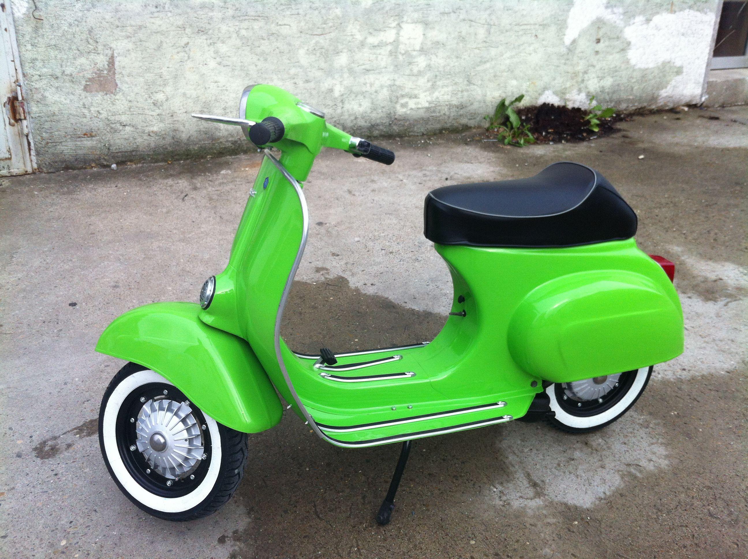 Vespa 50 Ccm Mela Verde 1968