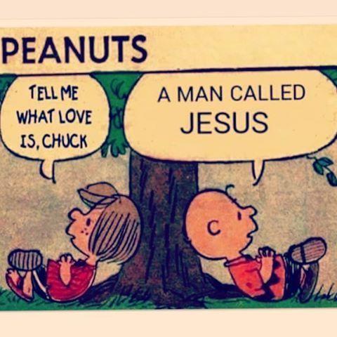 - Tell me what #love is, Chuck. - A man called #Jesus. ***  - Me diga o que é o #amor, Chuck. - Um homem chamado #Jesus.  MDFe.org