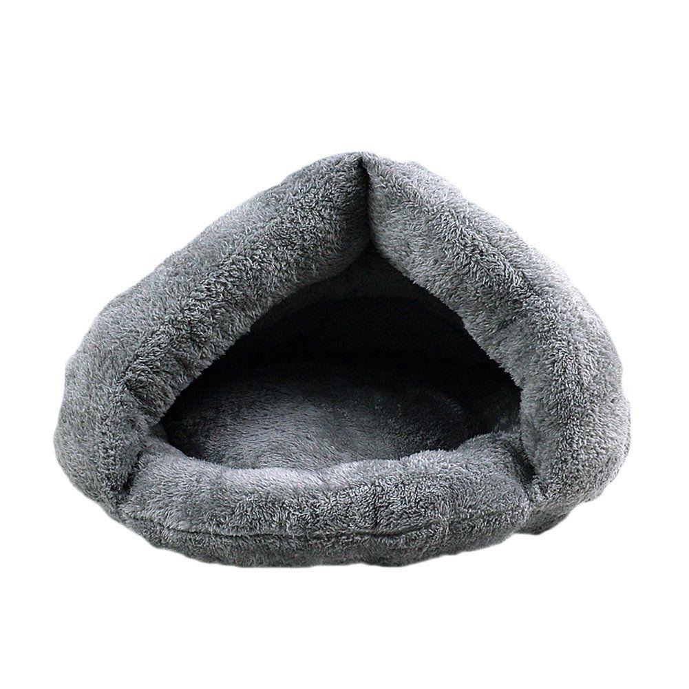 Wildgirl Pet Cat Bed Crate Cozy Warm Plush Fossa Sleeping