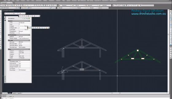 How To Use Trusscad A Autocad Based Program To Draw Roof Truss