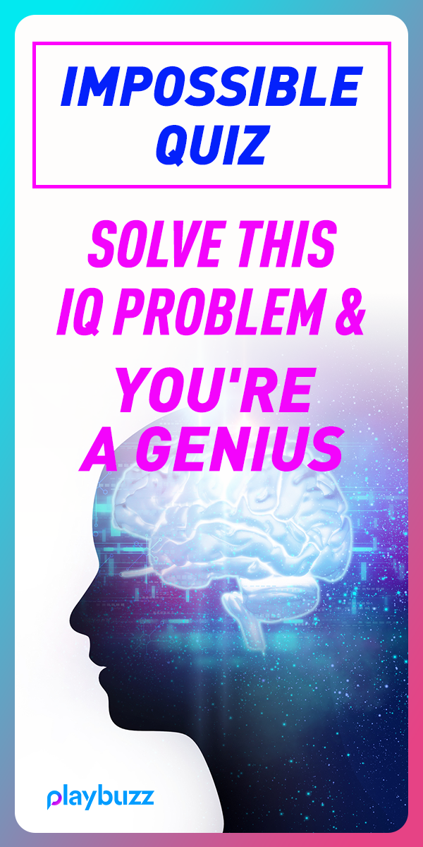 Impossible Quiz Solve This IQ Problem And You're A