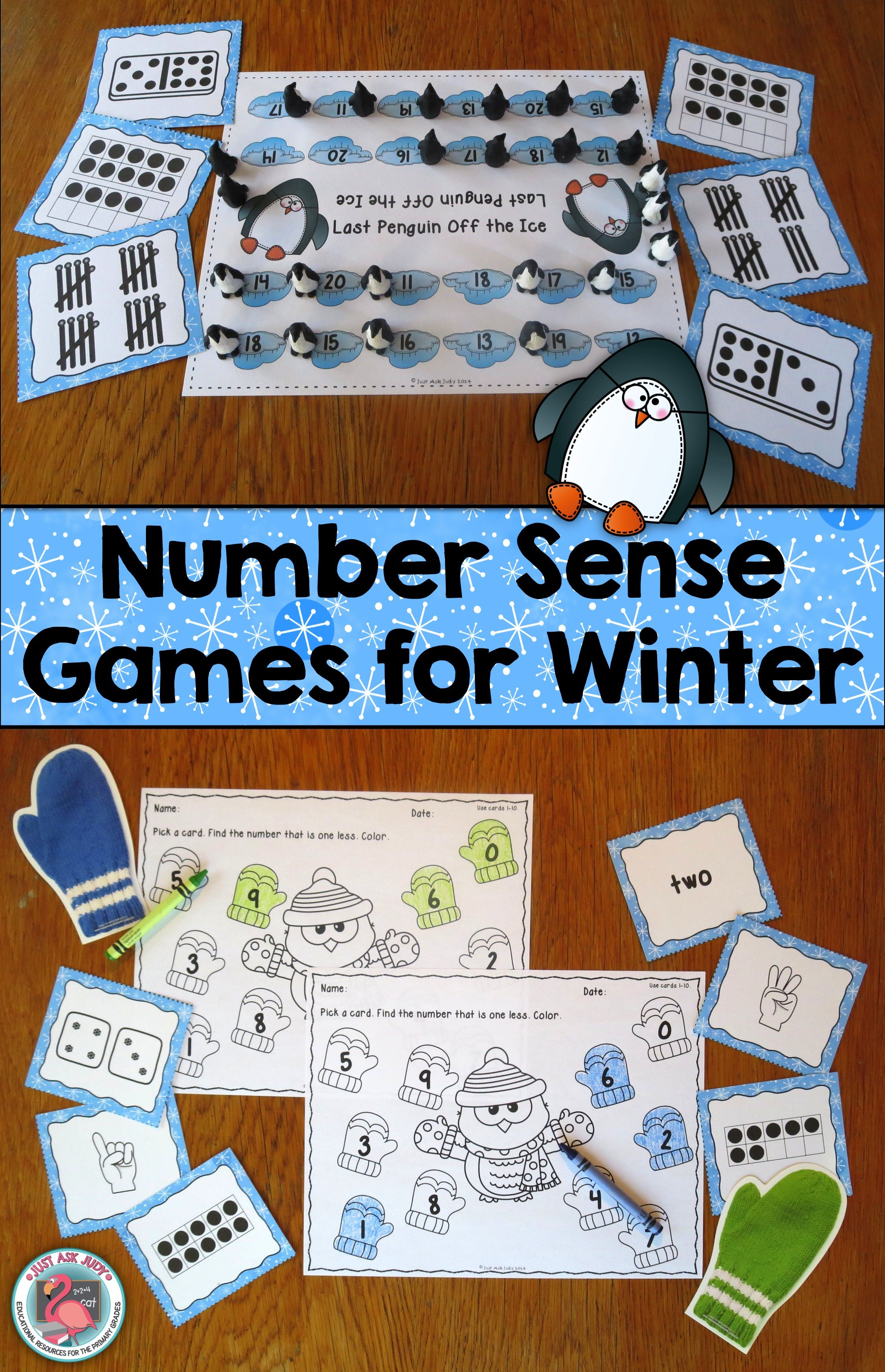 Number Sense Games Winter 0 5 0 10 11 20