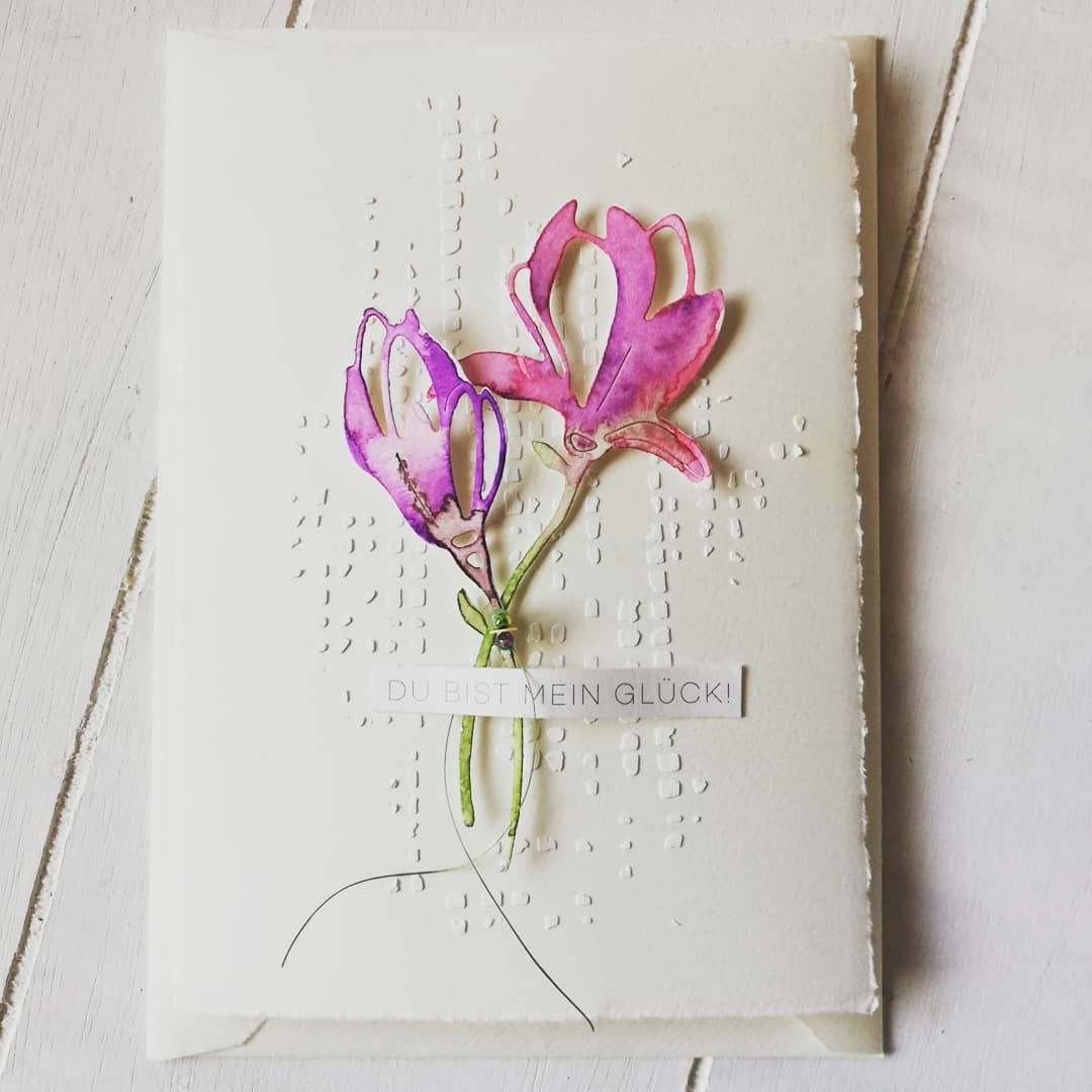 Открытки из бумаги лилиями