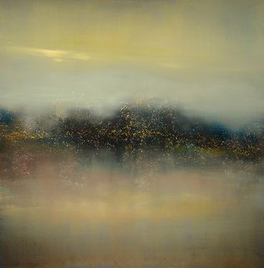 """Saatchi Art Artist Maurice Sapiro; Painting, """"Blue Lagoon"""" #art"""