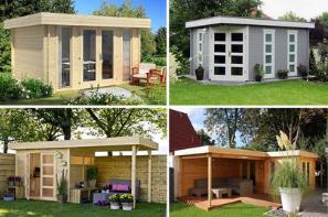 Wir Erklaren Mit Welchen Materialien Amp Methoden Sie Ein Gartenhaus Flachdach Abdichten Konnen Anleitung In 2021 Flachdach Gartenhaus Gartenhaus Dach Gartenhaus