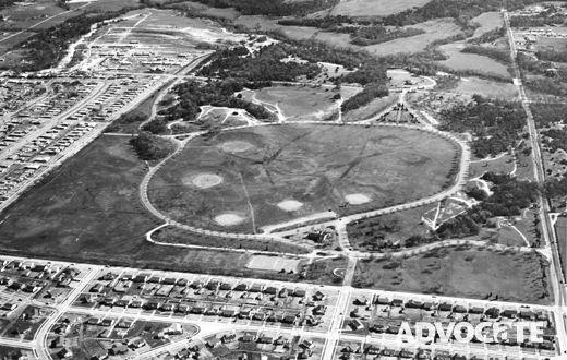 Aerial View of Kiest Park | Oak Cliff and Memories ...