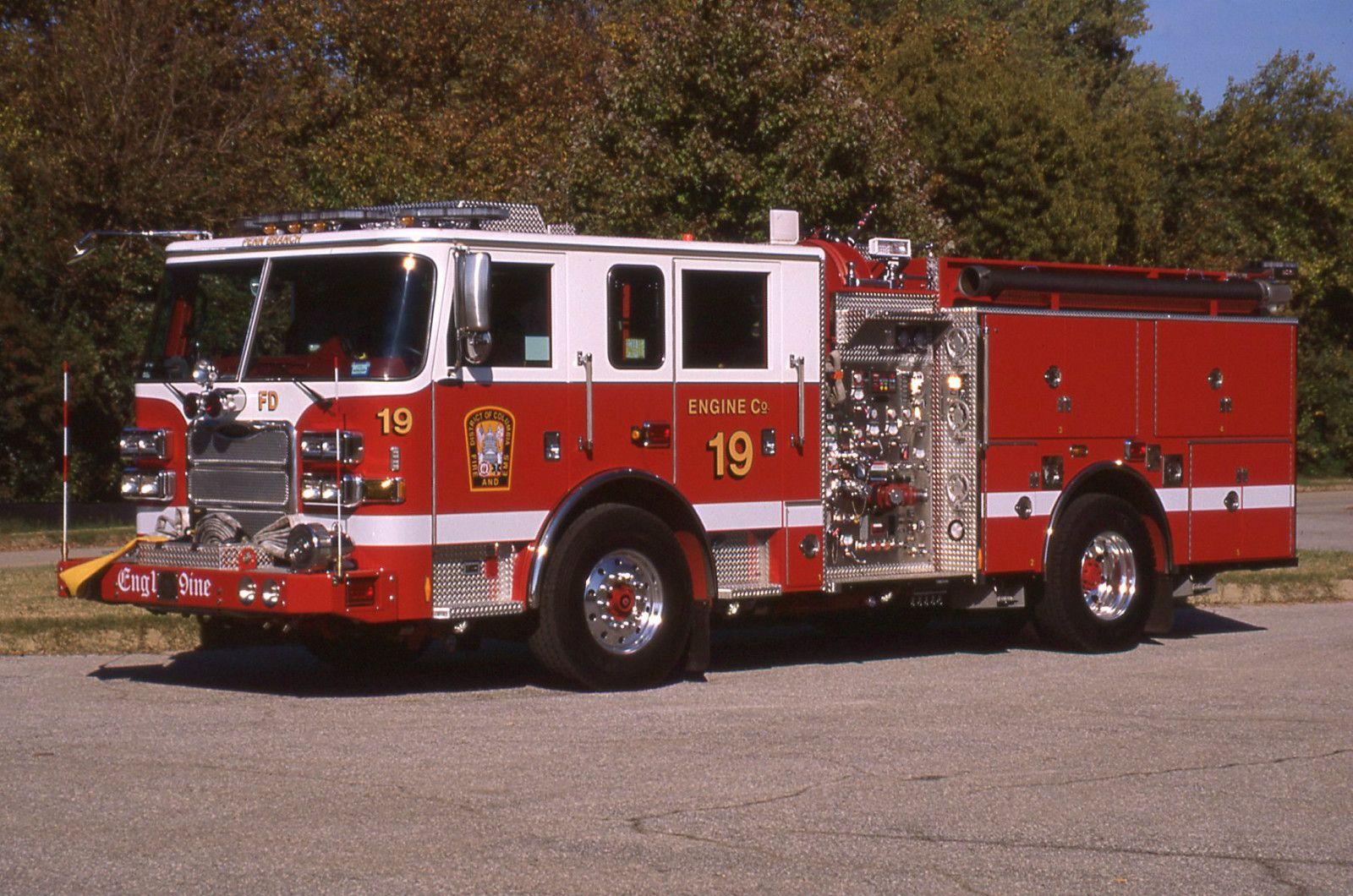 DCFD Engine 19 Fire trucks, New trucks, Rescue vehicles