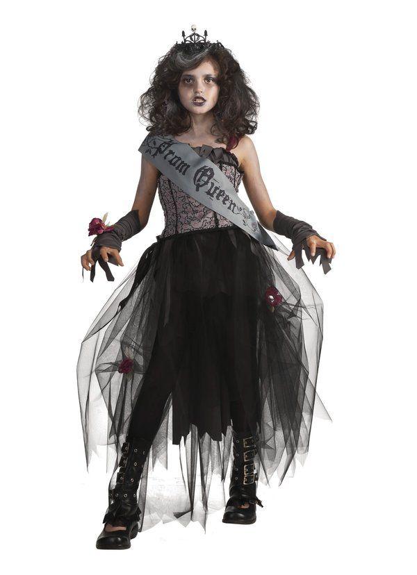Ragazze Vampiro Costume Gothic Vampira Costume Dracula Halloween Completo Nuovo