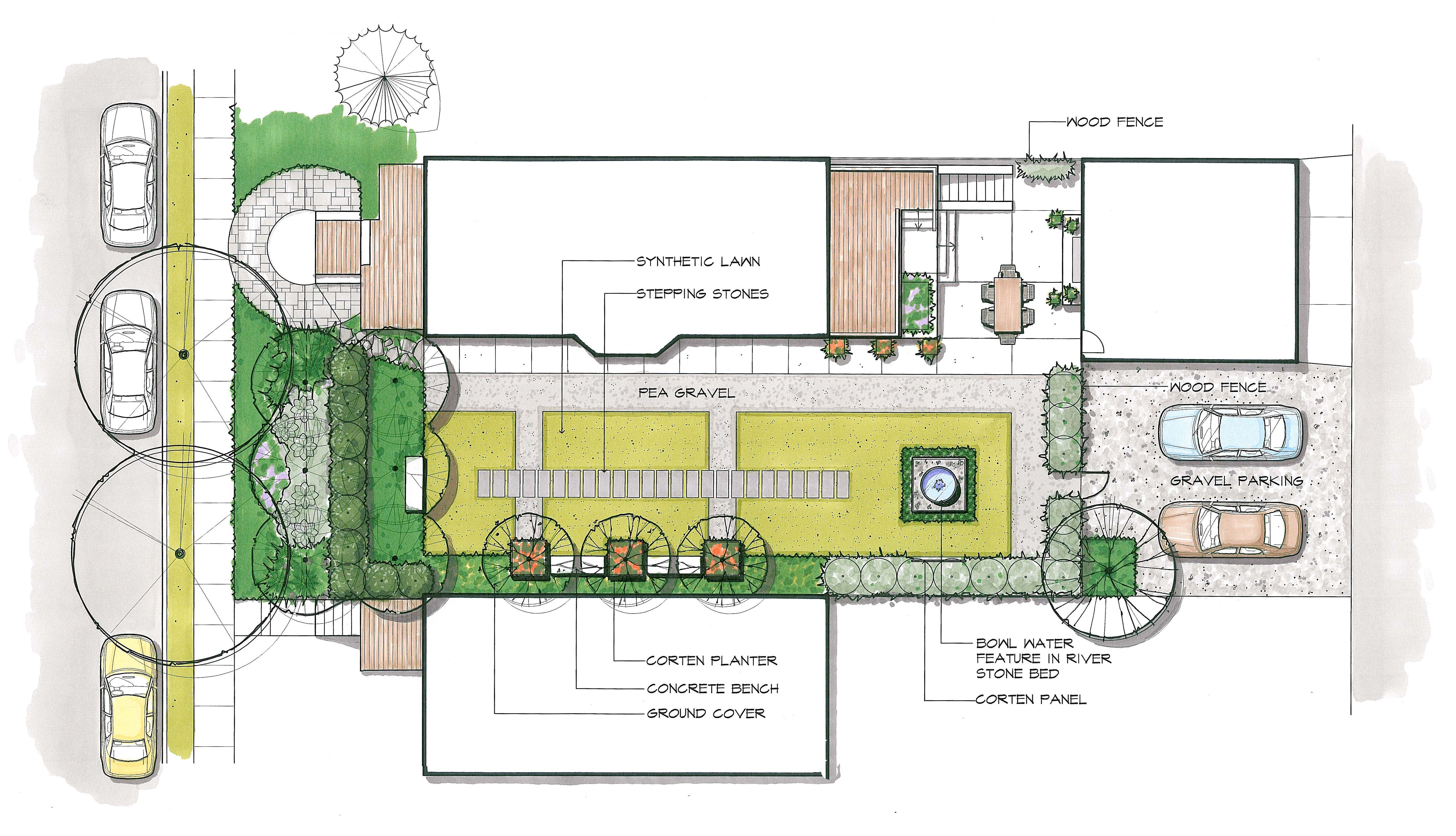 Our Outdoor Living And Landscape Portfolio Eichenlaub Inc Landscape Architecture Design Meditation Garden Building Plans House