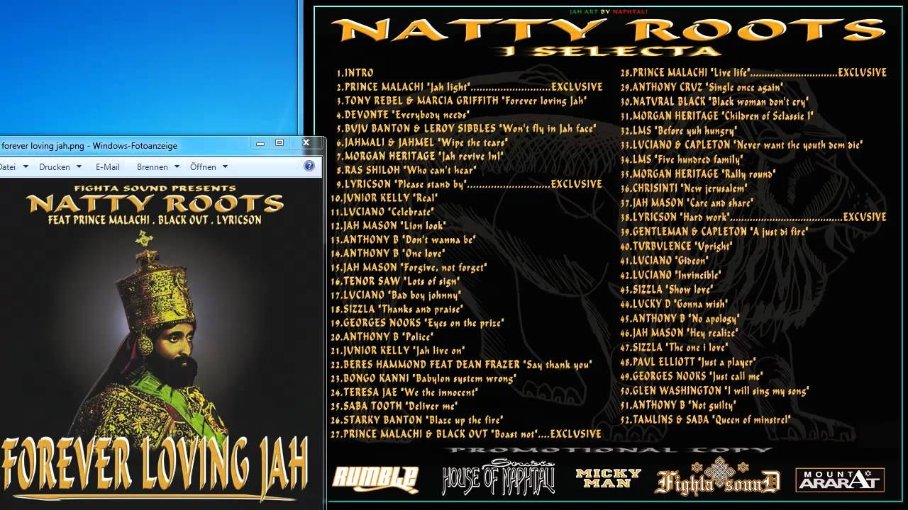 Fighta Sound System - Forever Loving Jah Mixtape