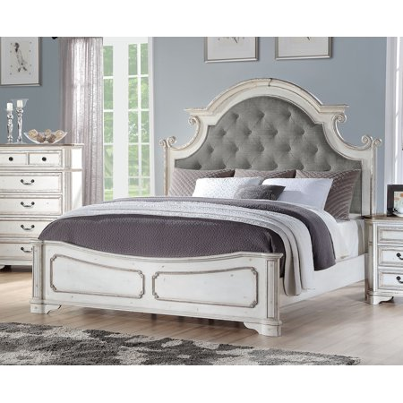 Home White Paneling White Bedroom Set Panel Bed