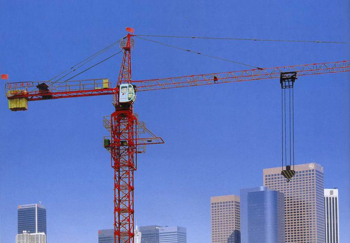 A tower crane is a type of machine, generally equipped with a hoist ...