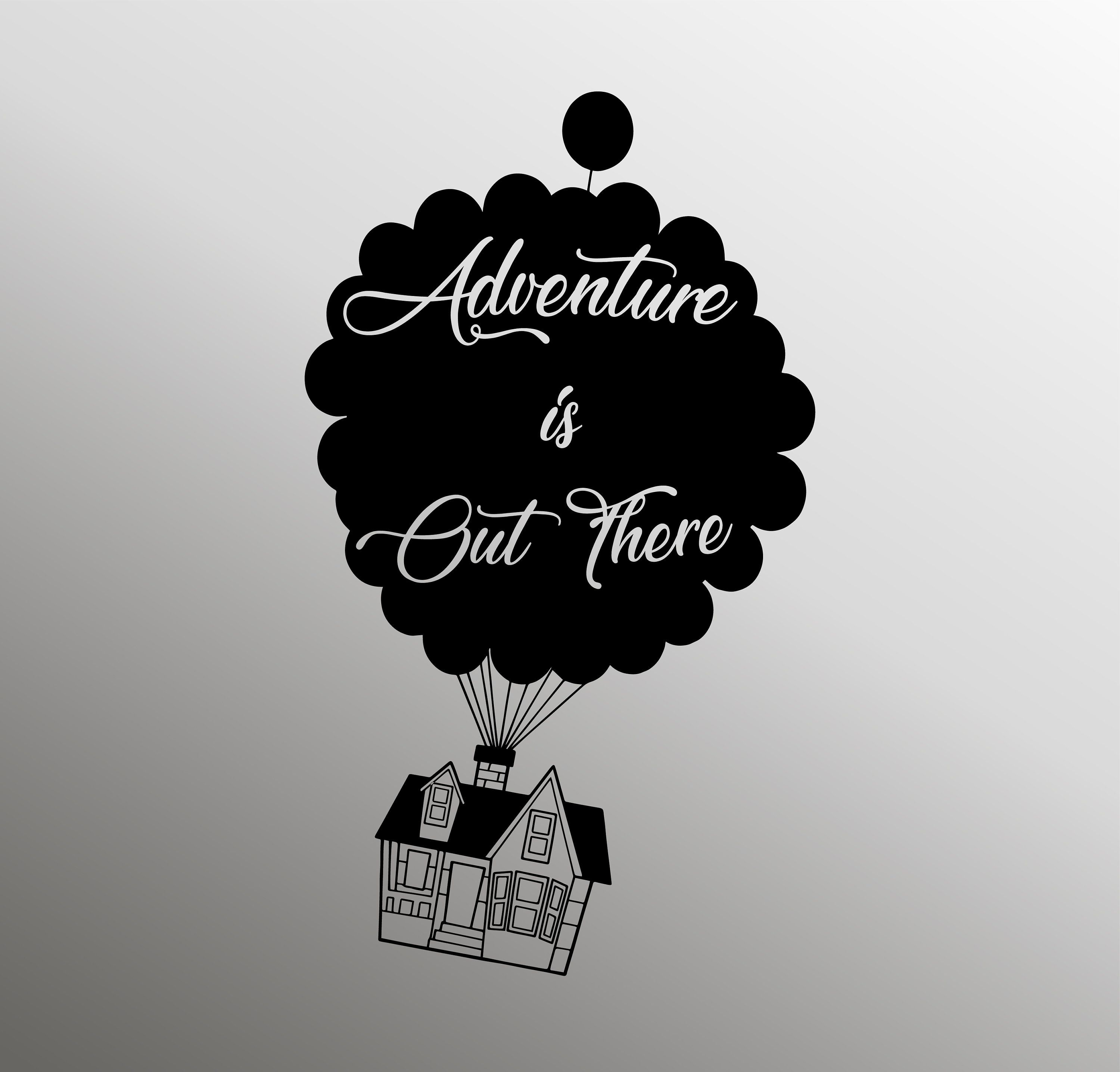 Adventure Is Out There Svg Up Svg Up Movie Svg Disney Svg Etsy Disney Silhouette Disney Up Disney Silhouettes