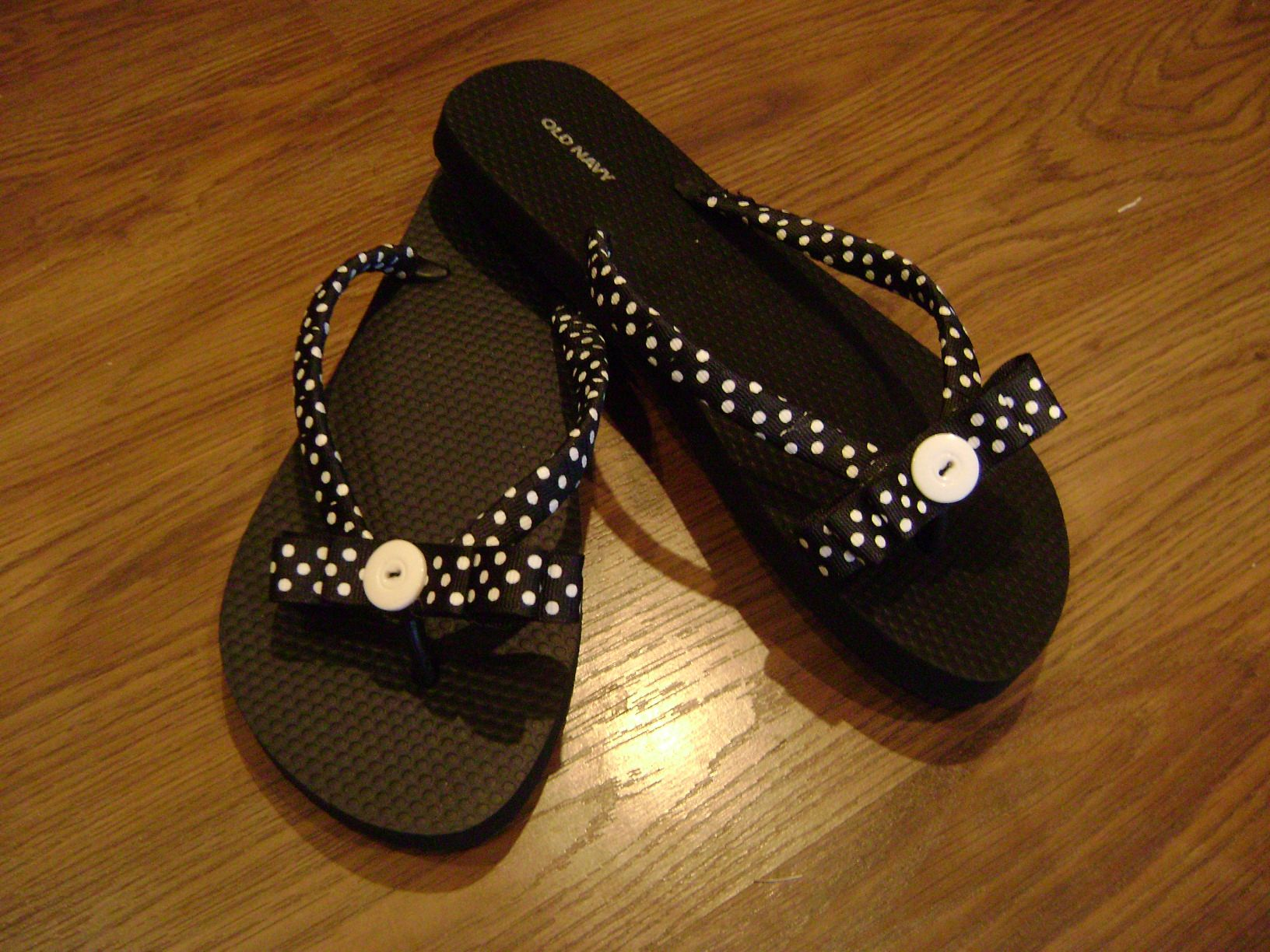 Fancy Flip Flopscan Be Made In Any Color Shipping -5133