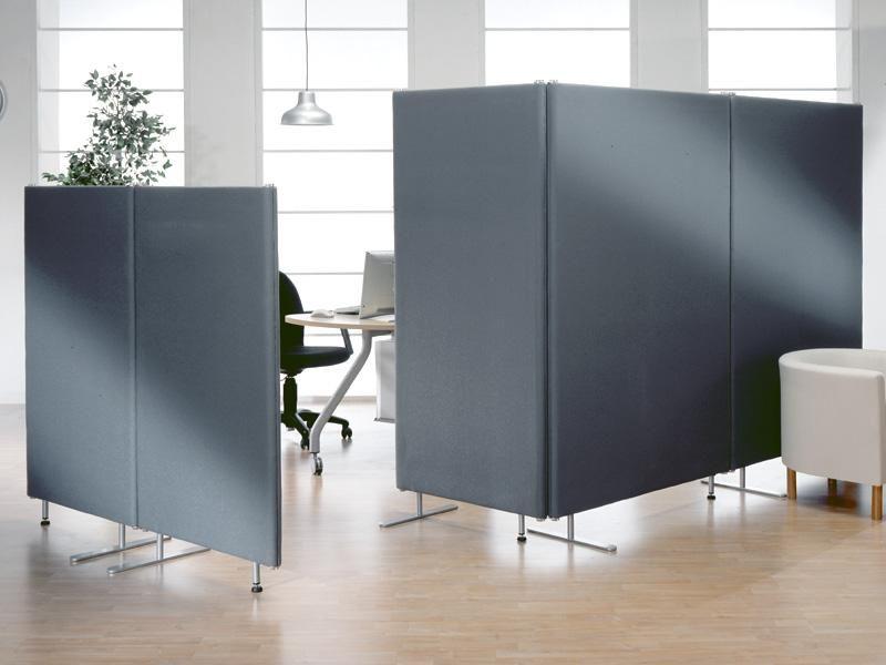 Linea phonotex pannelli divisori pareti mobili separ - Mobili su ruote ...