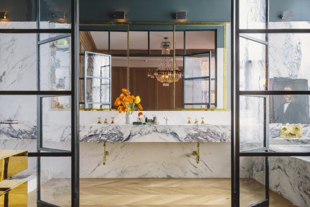 Jenna Lyons bathroom | Design Ideas in 2018 | Pinterest | Jenna ...
