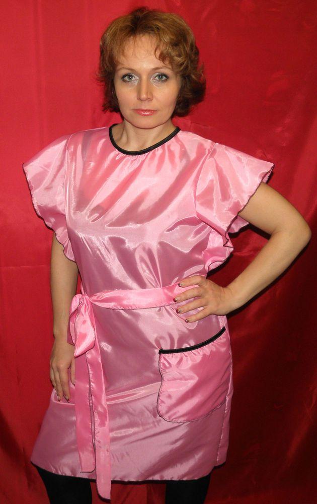 blouse nylon kittel ab gr 36 bis 54 farbe rosa kapsalons pinterest stylists. Black Bedroom Furniture Sets. Home Design Ideas