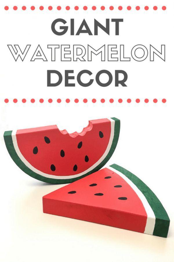 Photo of DIY Giant Watermelon Decor