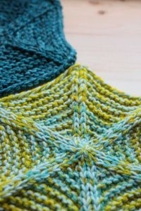 How to knit marled projects by holding yarns together | Tin Can Knits