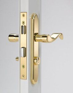 Wright Serenade Mortise Lever Latch Vmt115pb By Hampton 39 41 Finely Crafted Solid Brass Fits Storm And Security Doo Storm Door Storm Door Hardware Doors