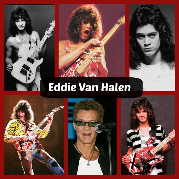 I was in love with Eddie Van Halen as a teenager! Who was your teenage crush?