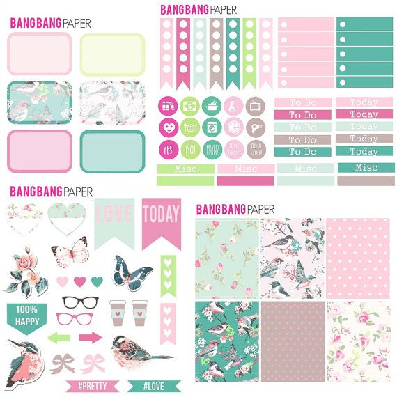 Vitamins Planner Stickers//Erin Condren Stickers//Happy Planner