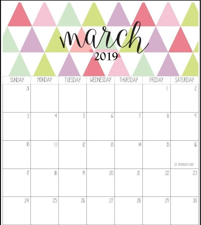 March 2021 Calendar In Pdf Word Excel Printable Template