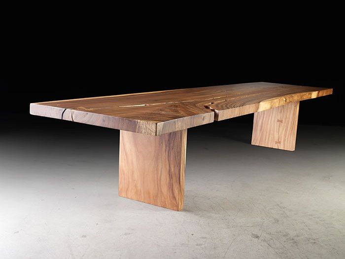 Phillips Collection Chamcha Wood Dining Table Modish