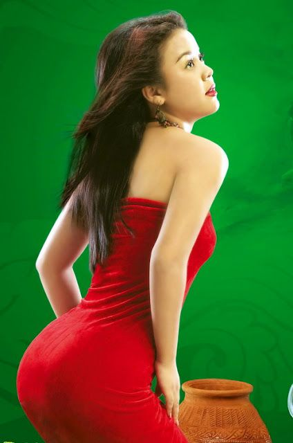 Myanmar Sexy Model Girl Photo