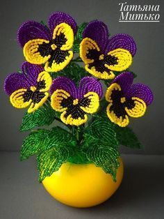 Pansy flower Crochet pattern, irish crochet flower, Amigurumi Pansy flower, Pans #irishcrochetflowers