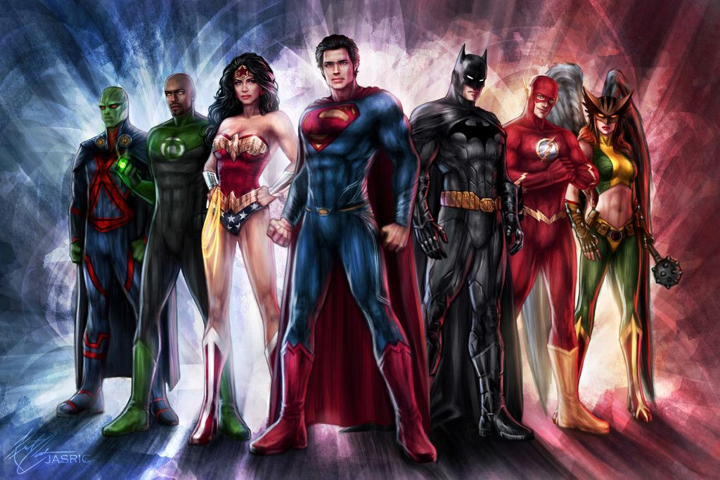 Justice League Superhero Team Dc Comics Wallpaper Justice League Art Dc Comics Wallpaper Justice League