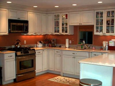 Similar Layout Painted Cabinets Cheap Kitchen Remodel Farmhouse Kitchen Remodel Kitchen Remodel Small