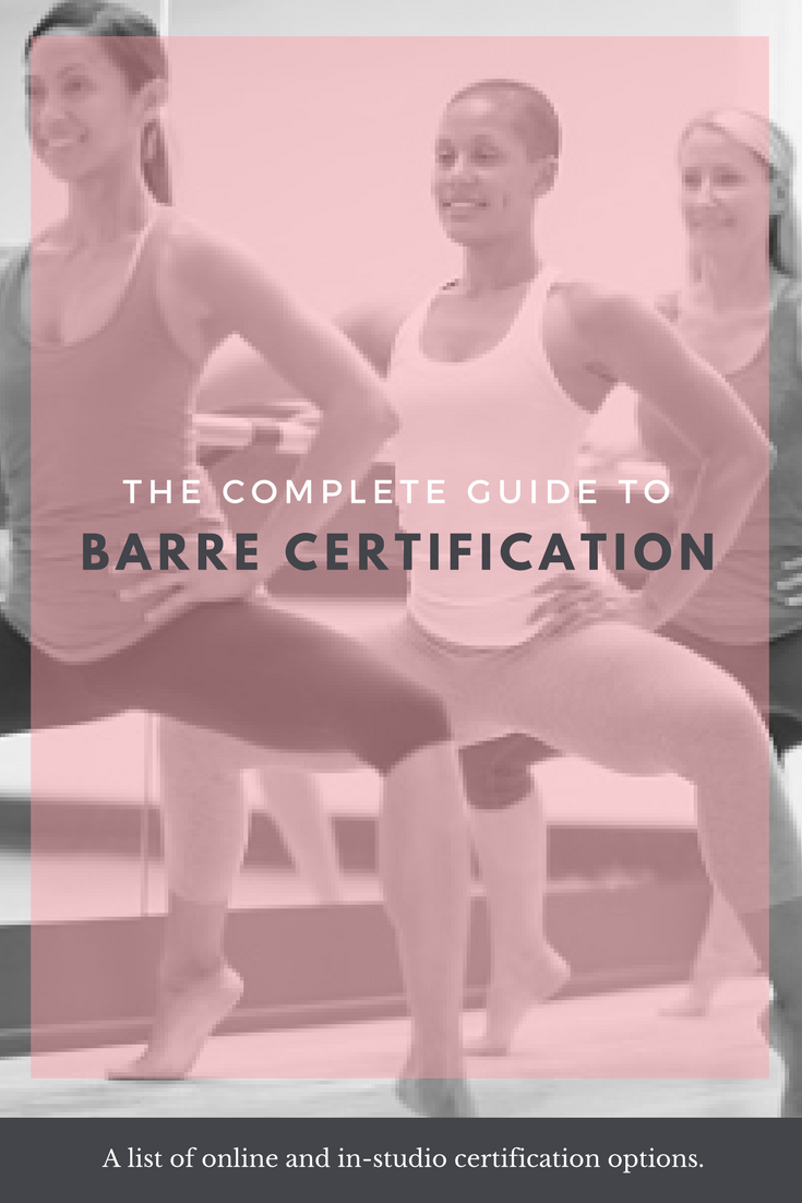 Where To Get A Barre Certification In North America Pinterest
