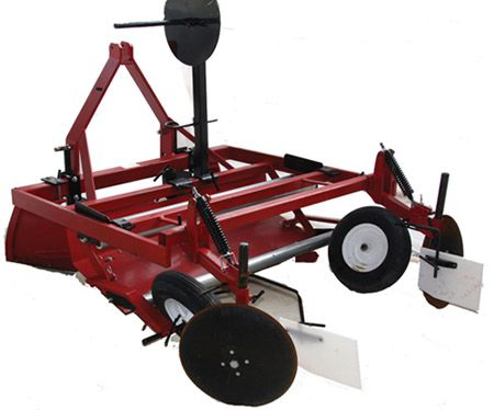 Rb 448 Compact Raised Bed Mulch Layer Lays 36 42 And 48