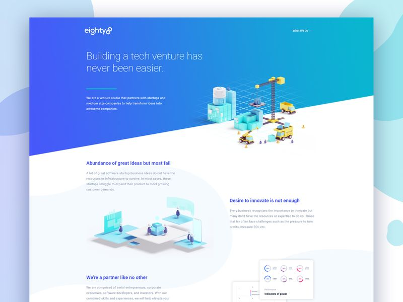Eighty Eight Ventures Project Venture Projects Web Design