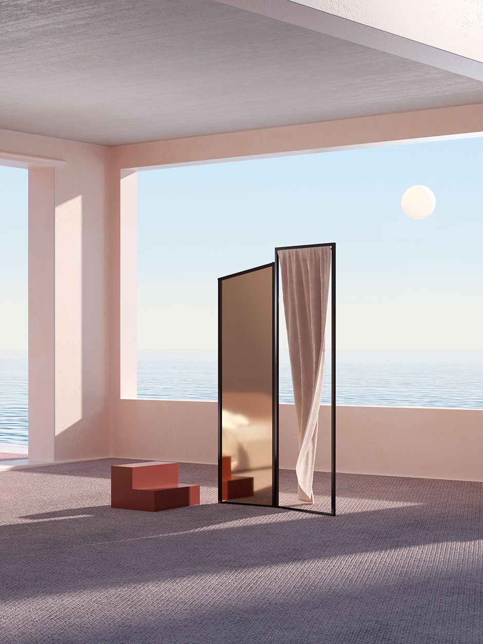 Six N. Five's 3D Rendered Interiors Perfectly Capture the Melancholy of a New Furniture Collection – Sight Unseen