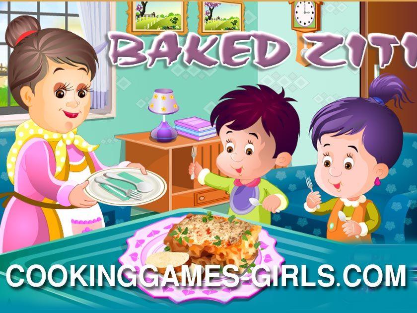 العاب طبخ عجين Baking Games Baking Baked Ziti