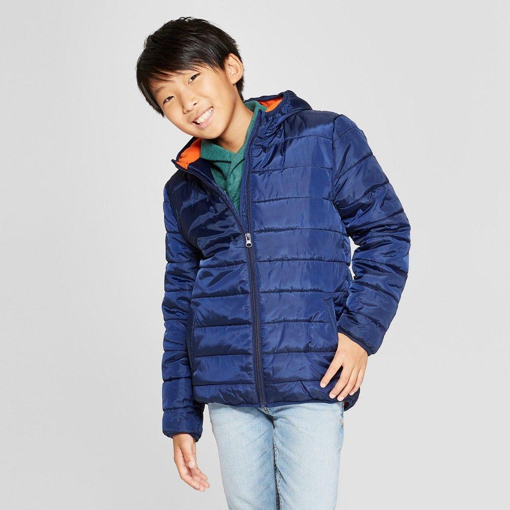 Boys Puffer Jacket Cat Jack Navy Xs Blue Boys Puffer Jacket Puffer Jackets Jackets [ 1000 x 1000 Pixel ]