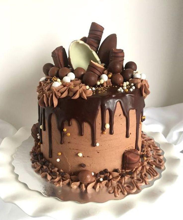 Die 20 würdigsten Tropfkuchen auf Pinterest   – Birthday Party Cakes