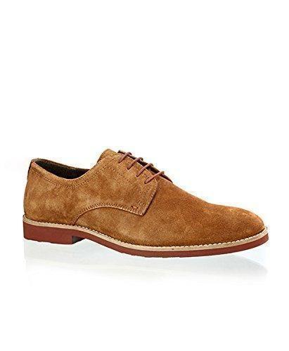 Red Tape - Zapatos de cordones de Piel para hombre Marrón canela, color Marrón, talla 42.5