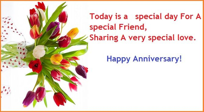 Wedding Anniversary Wishes For Friends – Anniversary ...